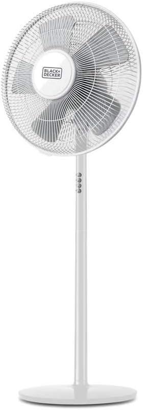 Ventilador ORBEGOZO SF0149 PIE, MD 40cm. 60W NEGRO 5 ASPAS