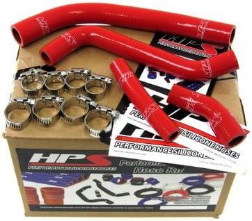 57-1263-RED Silicone Radiator Hose Kit for Yamaha YZ450F HPS