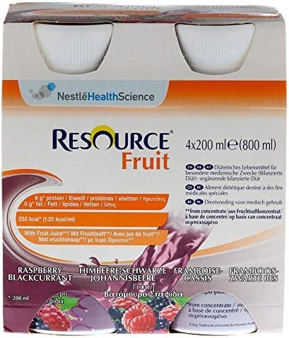 RESOURCE Fruit Himbeere/schw.Johannisbeere 6X4X200 ml