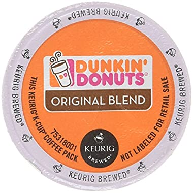 32 Count - Dunkin Donuts Original Flavor Coffee K-Cups For Keurig K Cup Brewers (2 boxes of 16 k cups)
