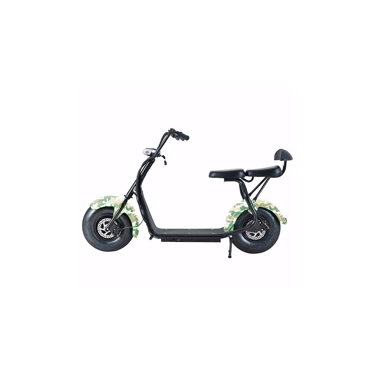 Citycoco Scooter Moto Eléctrica Harley 1000W Bluetooth ...