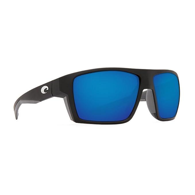 3d6babb8b0a Costa del Mar Anaa blk124obmglp Unisex mate marco negro azul espejo 580 G  lente Wrap gafas de sol  Amazon.es  Ropa y accesorios
