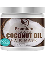 Coconut Oil Hair Mask Conditioner - Sulfate Free Deep...