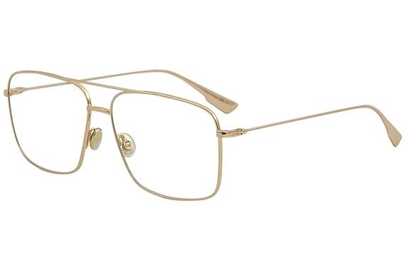 db38ba0fde815 Christian Dior Eyeglasses DiorStellaireO3 DDB Gold Copper Optical Frame 57mm