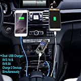 Bluetooth FM Transmitter For Car With 1.44 Inch