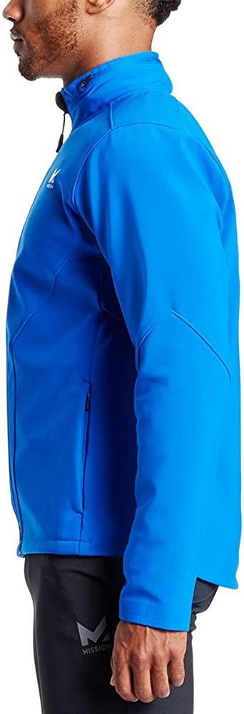 Mission Mens VaporActive Catalyst Jacket Large Lapis Blue//Moonless Night