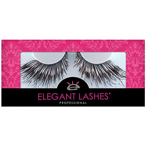 Elegant Lashes C943 Premium Color False Eyelashes (Extra-Long