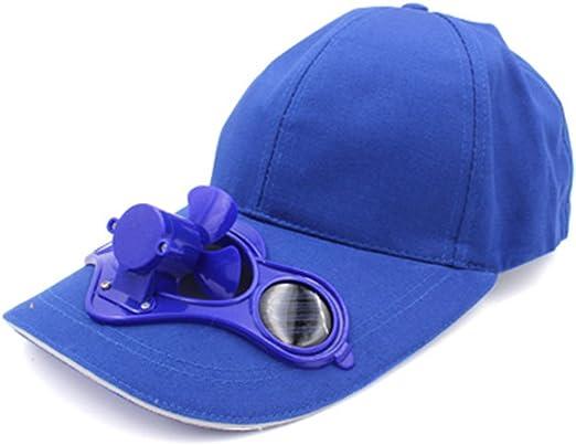 cowin Solar enfría béisbol Sombrero con Ventilador Solar Integrado ...