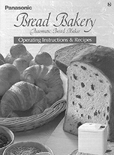 panasonic bread machine manual recipes model sd bt65p plastic rh amazon com panasonic bread bakery manual sd-bt56p panasonic bread bakery manual sd-200