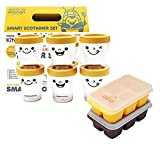 Baby food container set Baby Food Silicone Freezer Tray ECO Corn starch fermentation