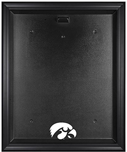 Iowa Hawkeyes Framed Logo Jersey Display Case by Mounted Memories