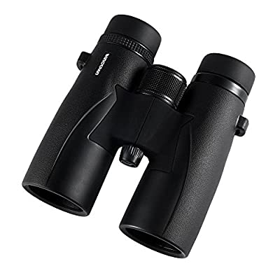 Wingspan Optics SkyView Ultra HD 8X42 Binoculars for Bird Watching With ED Glass. Waterproof, Wide Field of View, Close Focus. Better and Brighter Bird Watching Experiences in Ultra HD Magnification