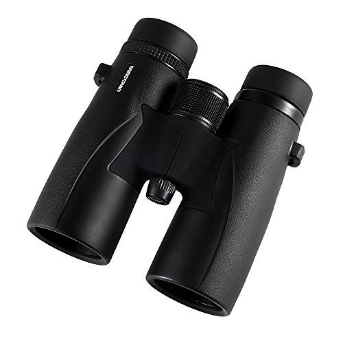 Wingspan Optics SkyView Ultra HD 8X42 Binoculars for Bird Watching for Adults With ED Glass. Waterproof, Wide Field of View, Close Focus. Experience Better and Brighter Bird Watching in Ultra HD