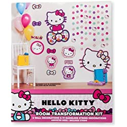 Hello Kitty Party Decoration 22 Count Multi-colored