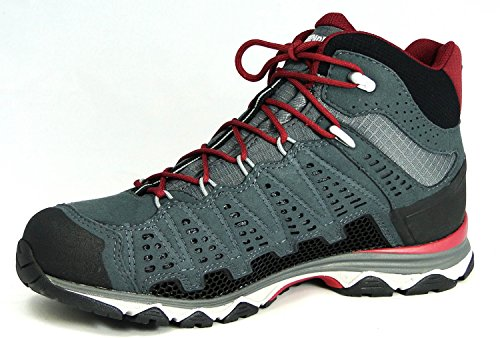 Meindl X-So 70 Lady Mid GTX Scarpe Da Trekking Donna, bordeaux-anthrazit