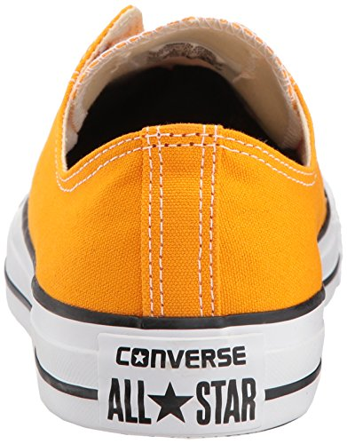 Converse Chuck Taylor All Star 2018 Saison Leinen Low Top Sneaker Orange Strahl
