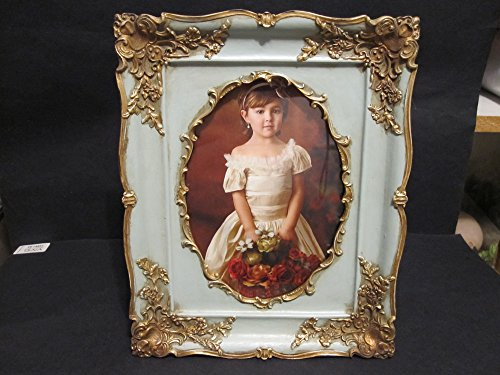 Vintage Looking Oval Victorian Style 5