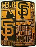 MLB San Francisco Giants Fleece Throw Blanket 50 inch by 60 inch