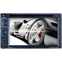 BOSS AUDIO BV9368I Double-DIN 6.2 inch Touchscreen DVD Player Receiver, Wireless Remote