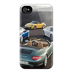 Snap-on Porsche 911 Carrera S 2 Cases Covers Skin Compatible With For Case Iphone 4/4S Cover
