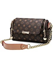 Fashion Women's Chain Handbag Printed Shoulder Messenger Bag-180411#