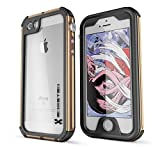 iPhone SE Waterproof Case, Ghostek® Atomic 3 Series for Apple iPhone 5, 5S & SE | Underwater | Shockproof | Dirt-proof | Snow-proof | Aluminum Frame | Adventure Ready | Ultra Fit | Swimming (Gold)