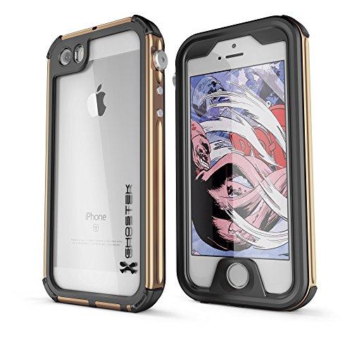 DualPro Shockproof Case for Apple iPhone SE/5S/5 (Black) - 8