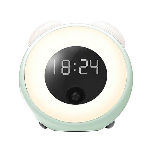 Wake Up Light Ricaricabile Sveglia Digitale con Riconosci