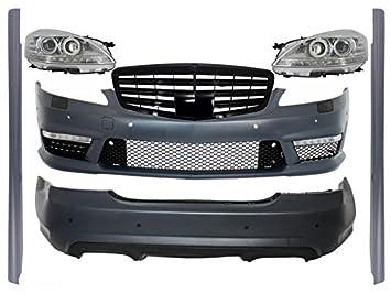 KITT COCBMBW221AMGPBFL AMG Kit completo de rejilla frontal LED faros delanteros: Amazon.es: Coche y moto