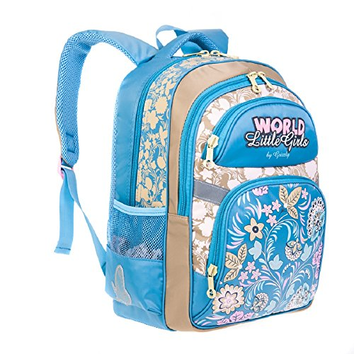 RU Grizzly Children's 1 Backpack 2 Daypack 710 Casual Blue qOIqA