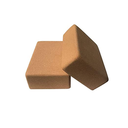 El bloque de yoga es un bloque de soporte de corcho de alta ...