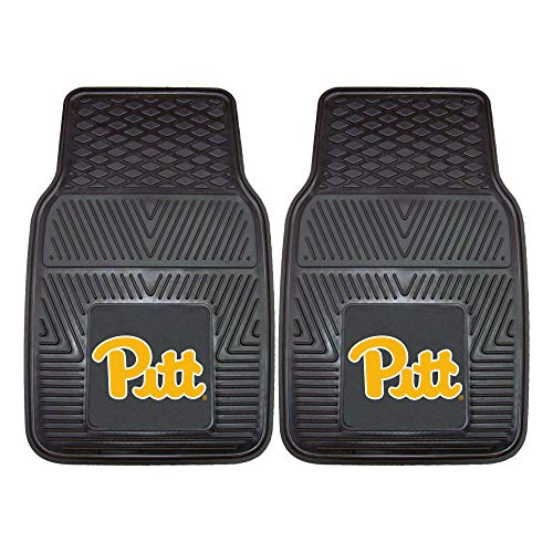 FANMATS NCAA University of Pittsburgh Panthers Vinyl Heavy Duty Car Mat