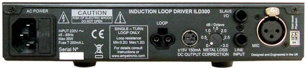 ILD300 PROFESSIONAL AUDIO INDUCTION LOOP DRIVERS FOR WINDOWS