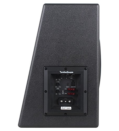 Rockford Fosgate P300-10 10'' 300W Sealed Powered Subwoofer/Sub Enclosure+Amp Kit by Rockford Fosgate (Image #6)