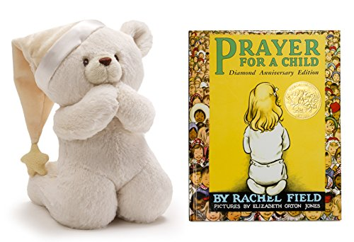 Prayer Bear-Now I Lay Me Down Stuffed Animal | Plush Stuffed Animal Toy with Prayer for a Child Book | Book and Toy (Classic Nursery Rhymes Costumes For Kids)