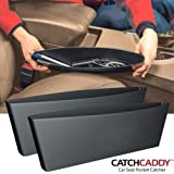 bosig® Catch Caddy Internal Storage Organizer for Car Seat Side Gap Pocket (Multicolour) -2 Pieces