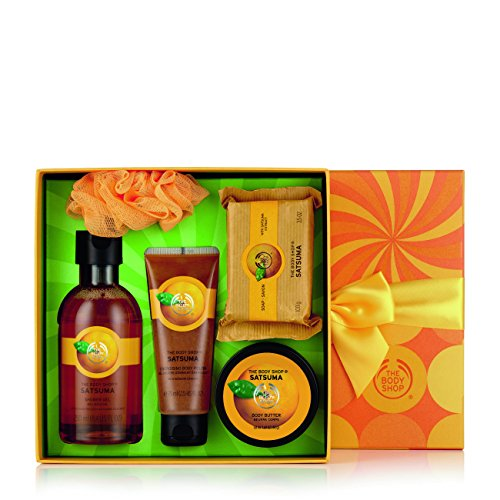 - The Body Shop Satsuma Essential Selection Gift Set