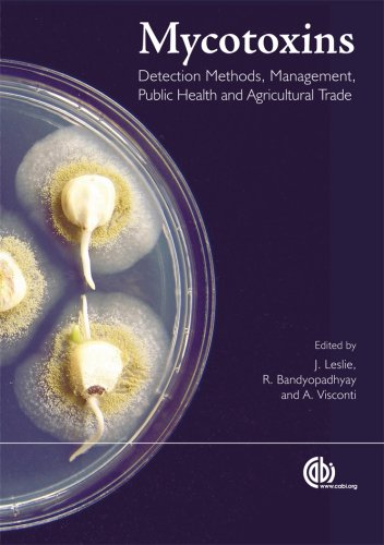 Mycotoxins: Detection Methods, Management, Public Health and Agricultural Trade