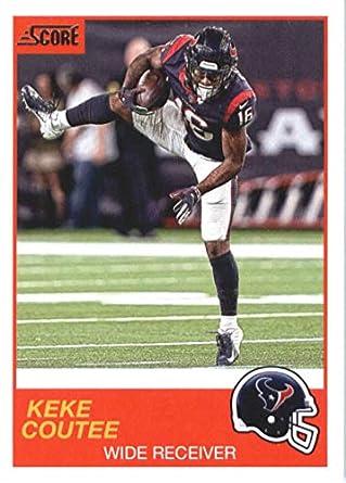 89381d3c Amazon.com: 2019 Score #45 Keke Coutee Houston Texans NFL Football ...