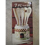 Country Home 7 Piece Kitchen Tool Set