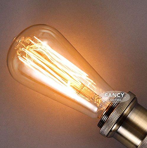 MYLE Retro lamp st64 vintage edison bulb e27 incandescent bulb 110v 220v holiday lights 40w 60w filament lamp lampada for home decor