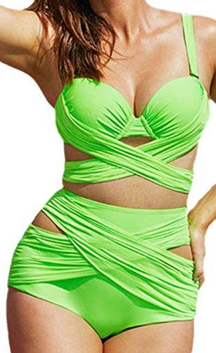 erdbeerloft - Conjunto - Opaco - para mujer Verde