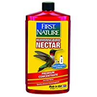 First Nature 3054 Nectar de colibrí rojo, concentrado de 32 onzas