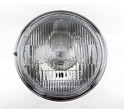 "TASWK 7"" Motorcycle Headlights for Cruiser Chopper Bobber Custom SUZUKI Honda CB400 VTEC1 2 3 Head Lamp"