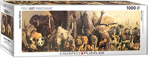 Noahs Ark Jigsaw Book - EuroGraphics Noah's Ark by Haruo Takino 1000-Piece Puzzle