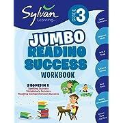 3rd Grade Jumbo Reading Success Workbook: Activities, Exercises, and Tips to Help Catch Up, Keep Up, and Get Ahead (Sylvan Language Arts Jumbo Workbooks)