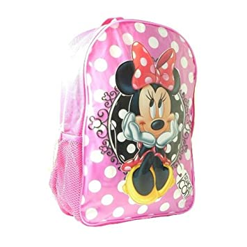 ed594d63916 Disney Junior Sambro Minnie Backpack with Mesh Pocket (Large)  Amazon.co.uk   Toys   Games