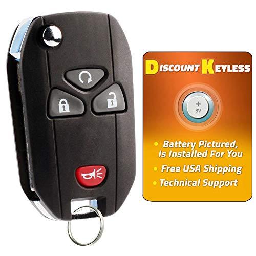 - For 07-15 Cadillac Buick Chevy GMC Pontiac Saturn Suzuki Keyless Entry Remote Flip Key Fob 4btn 15913421 OUC60270, OUC60221