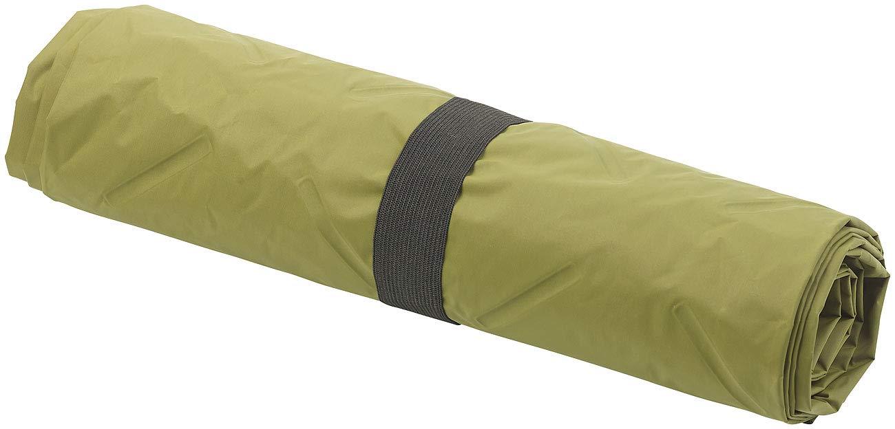 gr/ün Semptec Urban Survival Technology Zeltmatten: Ultraleichte Outdoor-Luftmatratze mit Tasche Aufblasbare Luftmatratze Camping schnell aufblasbar