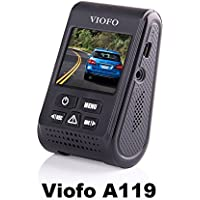 Viofo A119 1440P 30fps Car Dash Camera (V2 Model) + 90 Degree miniUSB Adapter